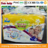 Breathable Super Absorbency with Hug Elastic Waistband Disposable Baby Pants Diaper