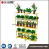 Wholesale 5 Layers Add-on Indoor Green House Flower Pot Metal Display Rack Shelving