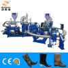 12 Stations Two Color PVC Rain Boots Injection Moulding Machine