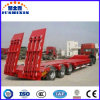 3 Axle Low Bed Heavy Duty Cargo Transportation Semi Trailer