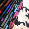 Fashionable Camouflage Synthetic PU Leather for Handbags (HSK010)
