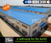 Wellcamp Strong Seismic and Wind Resistant High Rise Big Door Steel Structure Warehouse