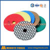 China Top Brand Diamond Dry Flexible Polishing Pads for Stone