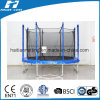 10FT Blue Ccolour Round Trampoline with Inside Enclosure