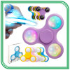 Best Good Relieve Stress Fidget Toys Colorful Hand LED Fidget Spinner