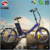 250W Scooter Electric Folding Ebike with Lithium Battery