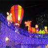 Outdoor/Wedding Decoration Curtain Lighting LED Christmas 2.5*2 360LED Curtain Waterfall Lights