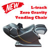 High End L-Track Zero Gravity Commercial Coin Bill Vending Machine Massage Chair