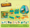 Boutique Playhouse Plastic Toy-Camping Set with Tent