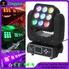 9PCS 12W 4in1 Moving Head Light LED Beam Matrix 3X3