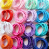 Hot Sale Colorful and Strong Texture 3cm Elastic Hair Band for Child