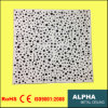 Metal Aluminum Clip in Suspended Irregular Preforated Ceiling Tile