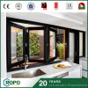 Australian Standard Aluminum Alloy Folding Windows with 3 Panels