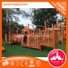 Children Amusement Outdoor Wood Playground Equipment