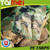 Waterproof Fabric Truck Cover Raw Material PE Camo Tarpaulin