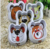 Imitation Ceramic Finish Pet Dog Cat Bowl