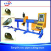 Efficient Automatic CNC Plasma Cutting Machine for Pipe Trusses Kasry 3 Axis Pipe Cutting Machine