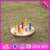 2016 Wholesale Baby Wooden Ring Toss Toy, Funny Kids Wooden Ring Toss Toy, Most Popular Children Wooden Ring Toss Toy W01A159