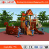 Orders Outdoor Playground Slide Funny Wooden Equipment (HD-MZ060)