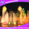 Restaurant Music Dancing Fountain Colorful Fancy Shape/ Villa Water Fountain