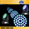 36PCS10W Moving Head RGBW 4 in 1 LED Zoom Moving Head (CL-920A)