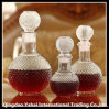 3 Types of Clear Glass Wine Bottle with Glass Lid
