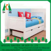 Popular Kids Room Wooden Single Bed with Storage
