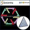 DJ Light Bar Club Decoration RGB LED Triangle Pixel Digital Backdrop