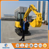 China Track Excavator with Hydraulic Hammer
