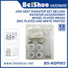 Heating Air Vent Plug Right and 2 Left Reductions Ratiator Accessories
