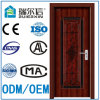 Export Standard Elegent Style New Interior Steel Security Door