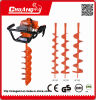 Gas Ground Drill Hand Ground Drill Earth Drilling Equipment