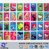 Custom Full Color Glossy Self Adhesive Water Resistant Kids Cartoon Packaging Stickers
