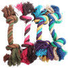 Dog Pet Toy Cotton Braided Rope Tug Chew Knot