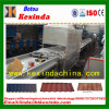 Sand Blasting Stone Coated Metal Roof Tile Making Machine
