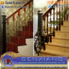Steel Indoor Staircase Wrought Iron Staircase Handrail of Staircase