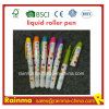 Mini Plastic Liquid Roller Pen with Nice Mulit Color