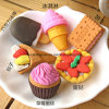 Promotion 3D Cake Eraser Food Shape Eraser