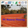 Eco-Friendly Professional PU Athletic Rubber Running Track with Iaaf Certificate