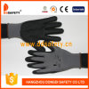 Ddsafety 2017 Hot Selling Grey Nylon Black Nitrile Glove