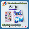 Funny Stationery Set Notebook with 3D Stickers Toy