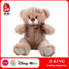 Plush Brown Teddy Bear with Patch Stuffed Toy Patch Bear