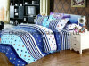 New Elegant Bedding Set Twin Size 4PC Duvet Cover Set Microfiber Super Soft Life