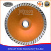 5-7 Inch Sintered Concave Turbo Saw Blade with Hot Pressed Type