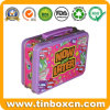 Lunch Tin Box with Handle for Promotion, Gift Tin Container