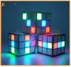 LED Light Wireless Mini Square Magic Cube Bluetooth Speaker