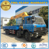 8X4 12 Wheels Telescopic Crane Truck Mounted with 16 Tons Crane for Sale