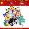 Weatherproof Custom Die Cut Logo UV Coated PVC Vinyl Decals Adhesive Car Stickers for Outdoor Using