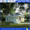 Low Carbon Environment Friendly Prefab Light Steel Villa of Sandwich Panel and Light Steel Structure