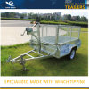 Fully Welded Galvanized Box Trailer for Sale